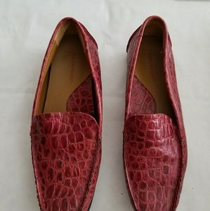 Rockport croc pattern used loafers